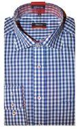 Eterna Shirt - 4553/19 X157 - Blue Check